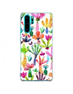 Coque Huawei P30 Pro Overlapped Watercolor Dots - Ninola Design