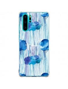 Coque Huawei P30 Pro Rain Stitches Neon - Ninola Design