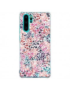 Coque Huawei P30 Pro Soft Nautical Watercolor Lines - Ninola Design