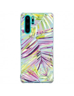 Coque Huawei P30 Pro Tropical Flowers Multicolored - Ninola Design