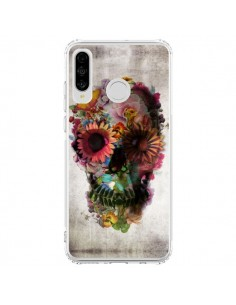 Coque Huawei P30 Lite Skull Flower Tête de Mort - Ali Gulec