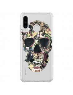 Coque Huawei P30 Lite Skull Vintage Tête de Mort Transparente - Ali Gulec