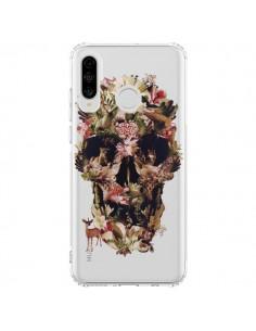 Coque Huawei P30 Lite Jungle Skull Tête de Mort Transparente - Ali Gulec