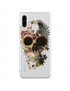 Coque Huawei P30 Lite Garden Skull Tête de Mort Transparente - Ali Gulec