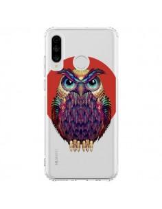 Coque Huawei P30 Lite Chouette Hibou Owl Transparente - Ali Gulec