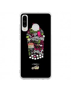 Coque Huawei P30 Lite Bubble Fever Original Flavour Noir - Bubble Fever