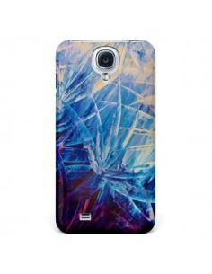 Coque Fleurs Violettes Françaises pour Galaxy S4 - Ebi Emporium