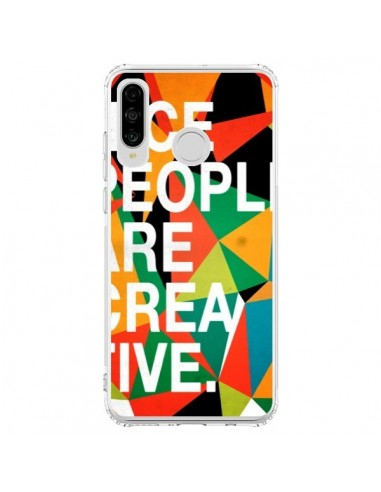 Coque Huawei P30 Lite Nice people are creative art - Danny Ivan