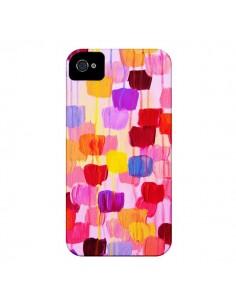 Coque Pois Roses Dottie pour iPhone 4 et 4S - Ebi Emporium