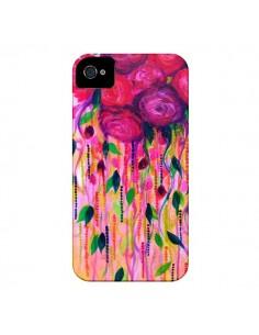 Coque Roses Rouges pour iPhone 4 et 4S - Ebi Emporium