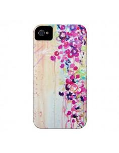Coque Fleurs Dance of Sakura pour iPhone 4 et 4S - Ebi Emporium
