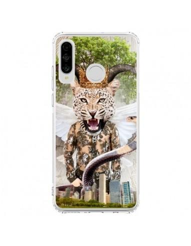 Coque Huawei P30 Lite Hear Me Roar Leopard - Eleaxart