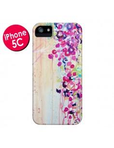 Coque Fleurs Dance of Sakura pour iPhone 5C - Ebi Emporium
