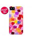 Coque Pois Roses Dottie pour iPhone 5C - Ebi Emporium