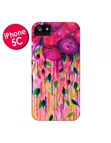 Coque Roses Rouges pour iPhone 5C - Ebi Emporium