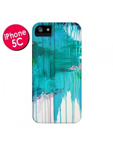 Coque Blue Monsoon pour iPhone 5C - Ebi Emporium