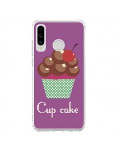 Coque Huawei P30 Lite Cupcake Cerise Chocolat - Léa Clément