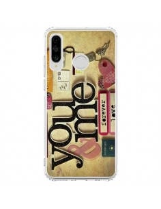 Coque Huawei P30 Lite Me And You Love Amour Toi et Moi - Irene Sneddon