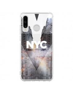 Coque Huawei P30 Lite I Love New York City Orange - Javier Martinez