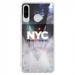 Coque Huawei P30 Lite I Love New York City Bleu - Javier Martinez