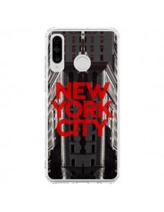 Coque Huawei P30 Lite New York City Rouge - Javier Martinez