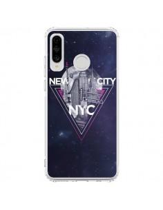 Coque Huawei P30 Lite New York City Triangle Rose - Javier Martinez