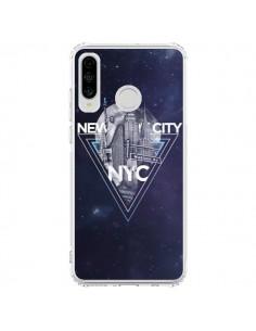 Coque Huawei P30 Lite New York City Triangle Bleu - Javier Martinez
