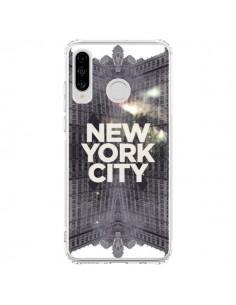 Coque Huawei P30 Lite New York City Gris - Javier Martinez