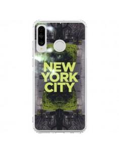 Coque Huawei P30 Lite New York City Vert - Javier Martinez