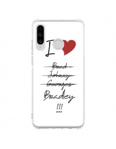 Coque Huawei P30 Lite I love Bradley Coeur Amour - Julien Martinez