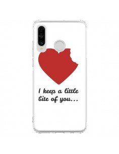 Coque Huawei P30 Lite I Keep a little bite of you Coeur Love Amour - Julien Martinez
