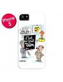 Coque L'art ne vaut rien pour iPhone 5 et 5S - Kristian