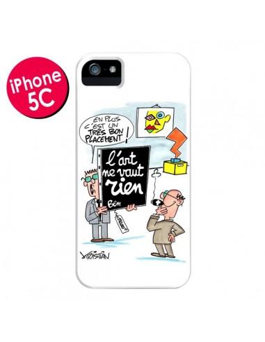 Coque L'art ne vaut rien pour iPhone 5C - Kristian