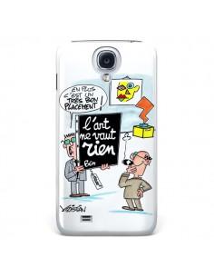 Coque L'art ne vaut rien pour Galaxy S4 - Kristian