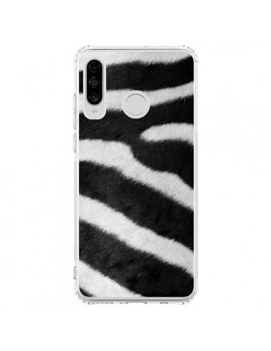 Coque Huawei P30 Lite Zebre Zebra - Laetitia