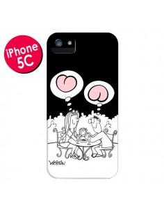 Coque L'amour selon homme et femme pour iPhone 5C - Kristian