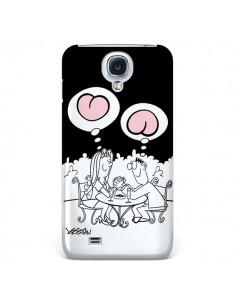 Coque L'amour selon homme et femme pour Galaxy S4 - Kristian
