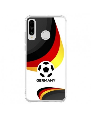Coque Huawei P30 Lite Equipe Allemagne Football - Madotta