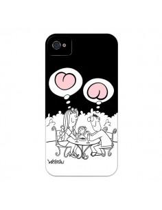 Coque L'amour selon homme et femme pour iPhone 4 et 4S - Kristian