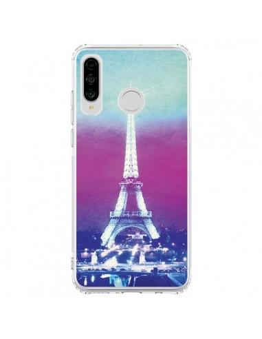 Coque Huawei P30 Lite Tour Eiffel Night - Mary Nesrala