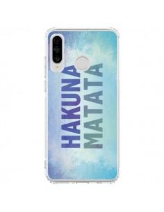 Coque Huawei P30 Lite Hakuna Matata Roi Lion Bleu - Mary Nesrala